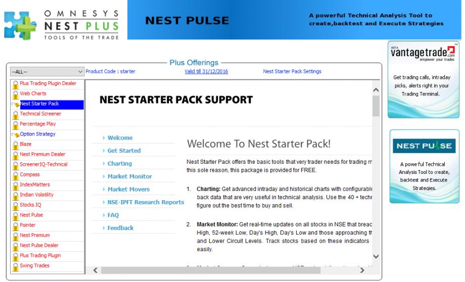 NEST Starter Pack Support