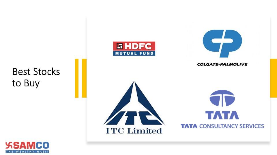 Best stocks to buy in India