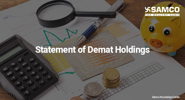 Statement of Demat Holdings
