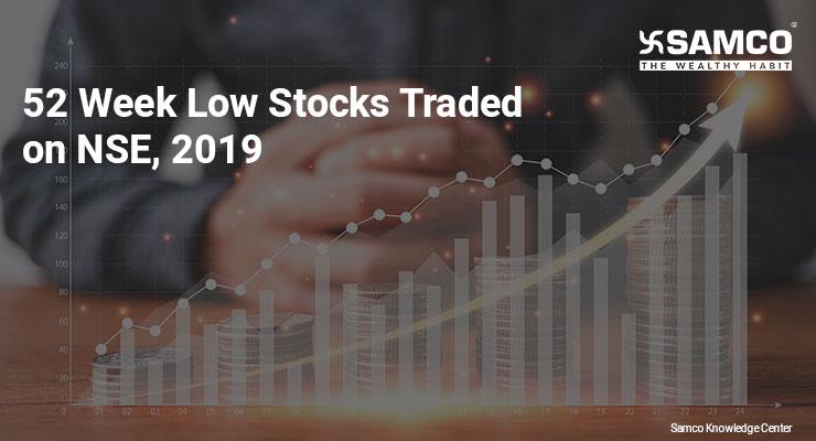 52 Week Low Stocks on NSE 2019