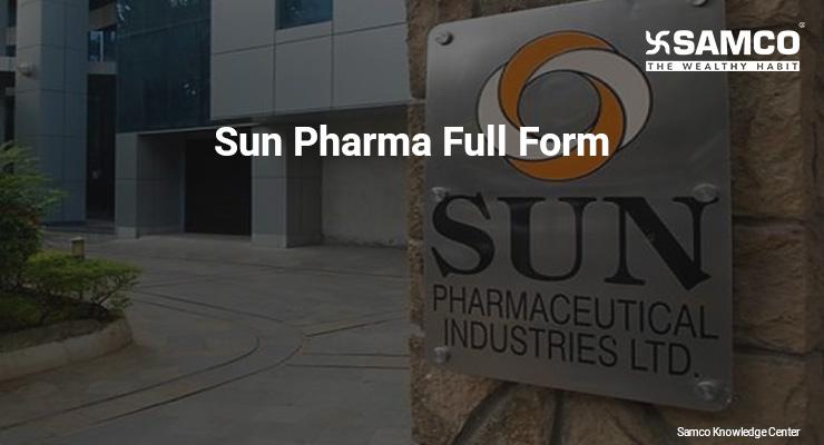 Sun Pharma Full Form