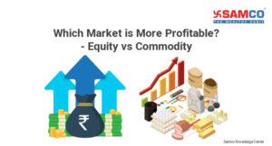 difference between stock market and commodity market