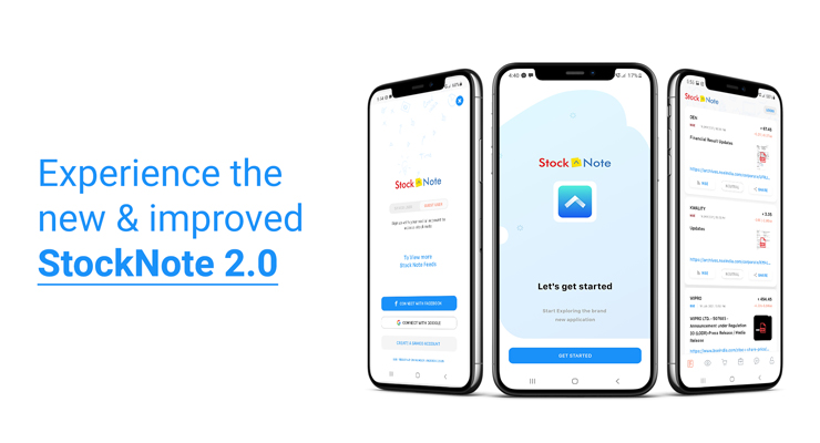 new and improved StockNote app
